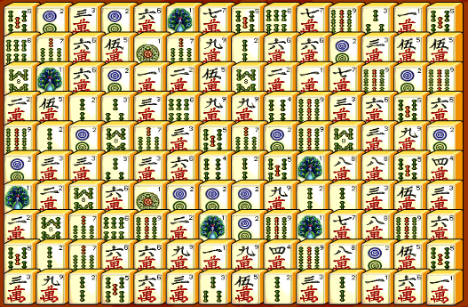 Mahjong Connect Game Tiles