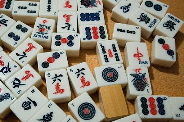 Traditional Mahjong Tiles